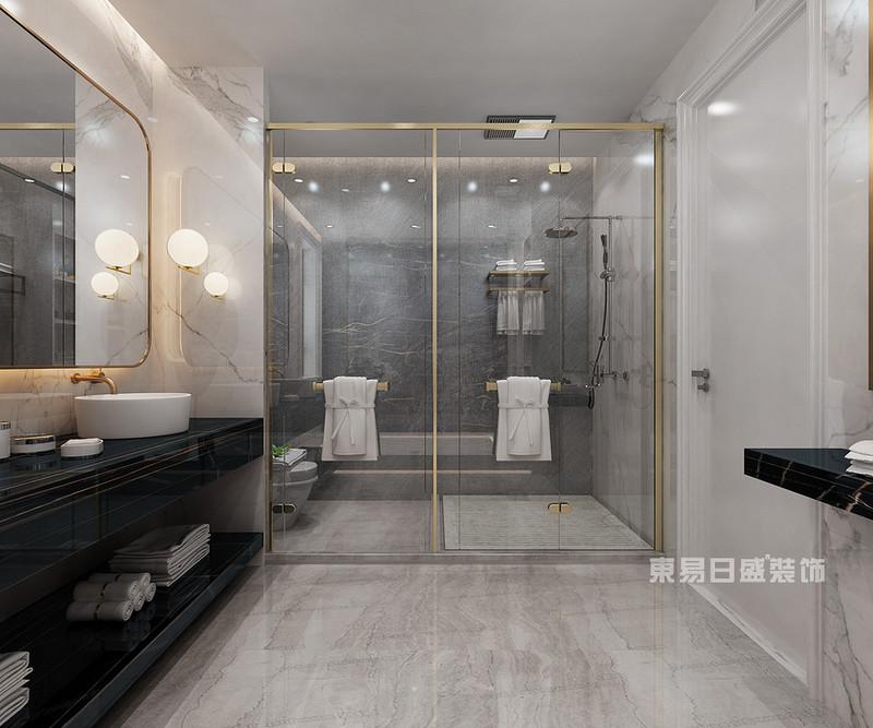 卫生间装修效果图瓷砖颜色欣赏