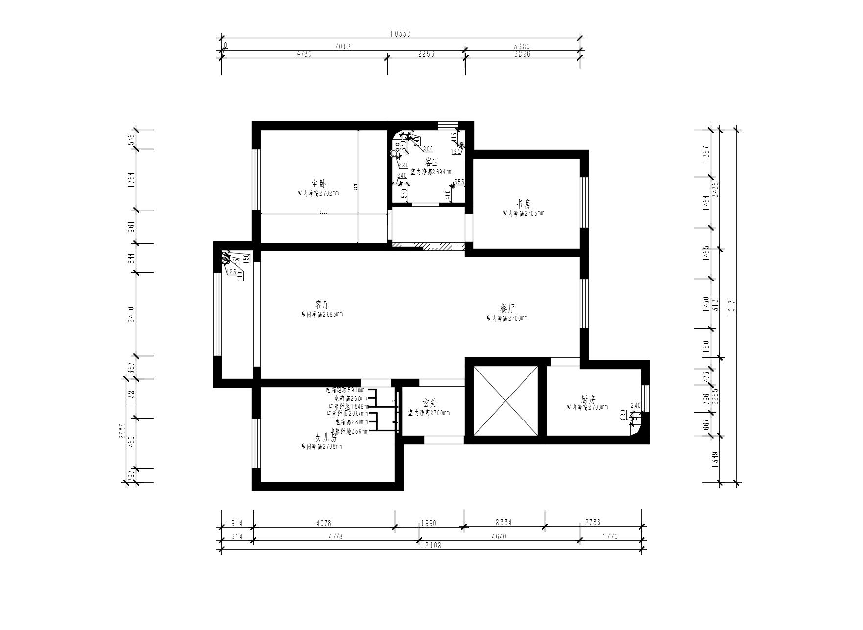 万橡府-新中式性状style-130m/2装潢策划愿景
