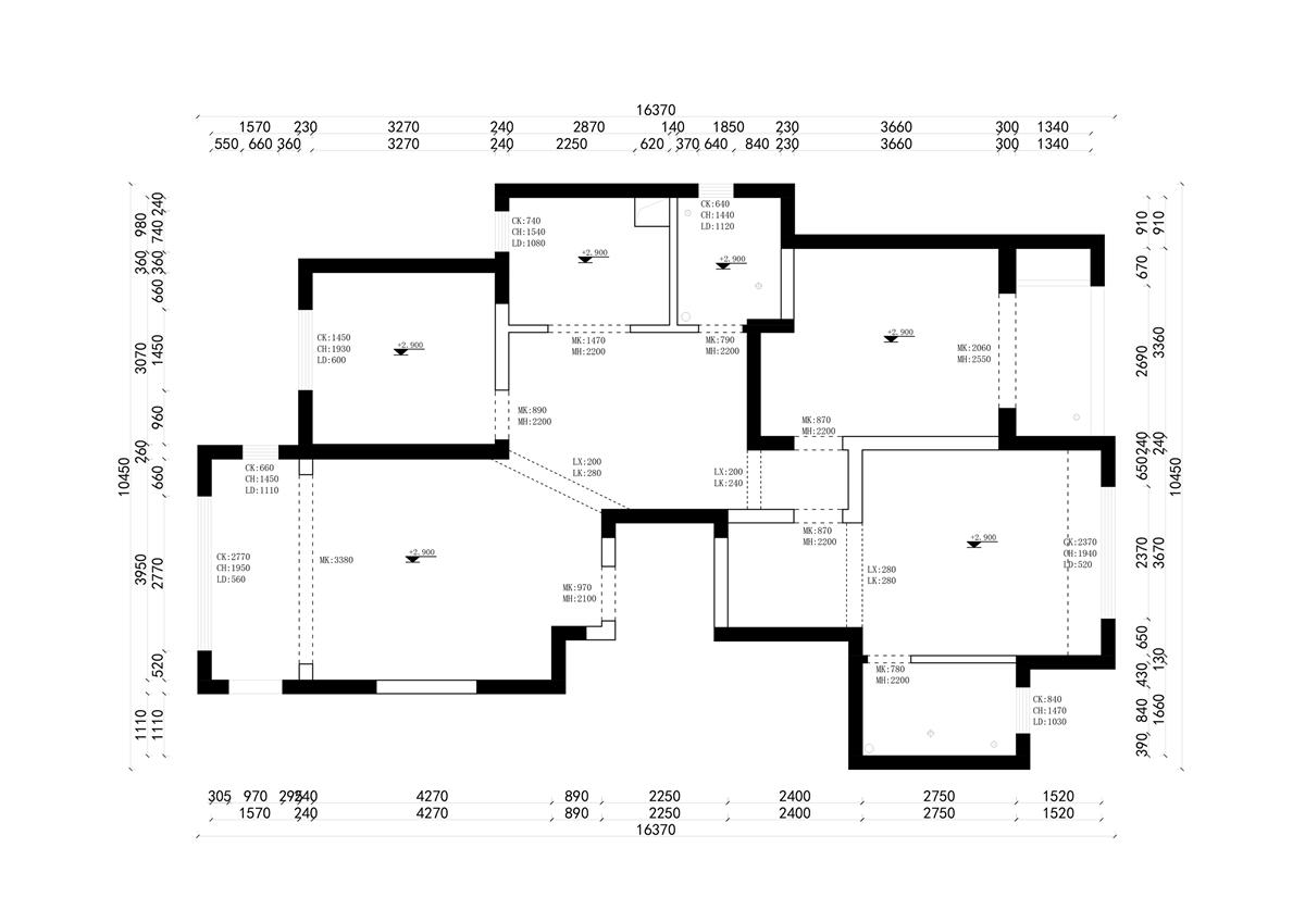 普罗旺世新中式140㎡三室两厅装修设计理念