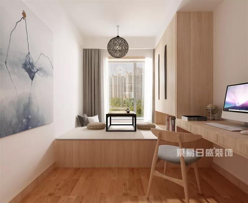 武汉室内装修设计效果图解析:日式简约也能这么美!