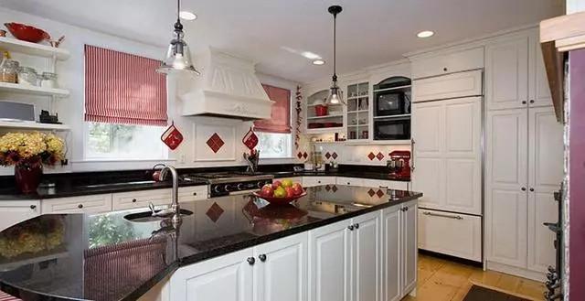 9款欧式风格厨房装修效果尽显贵族风范