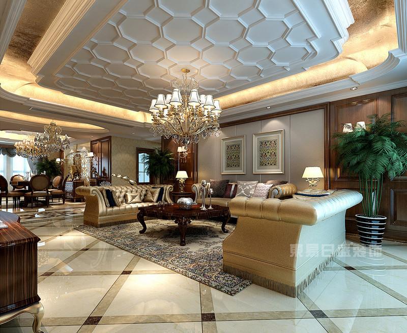 6套紫汀苑欧式风格房间装修效果图片 业主有福了