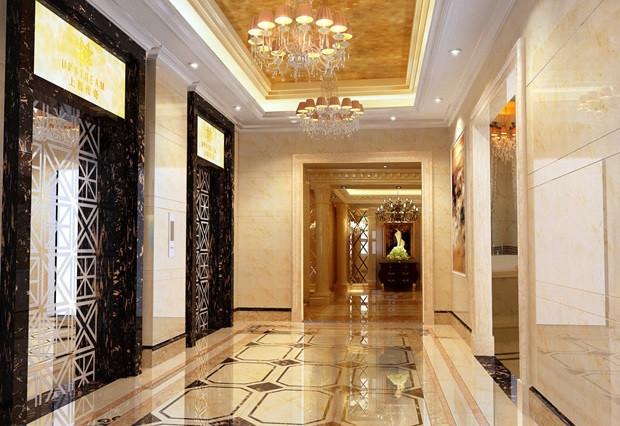 過道地磚拼花尺寸詳解,走廊地磚裝修效果圖
