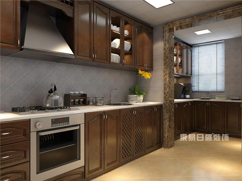 走廊形厨房装修设计布局