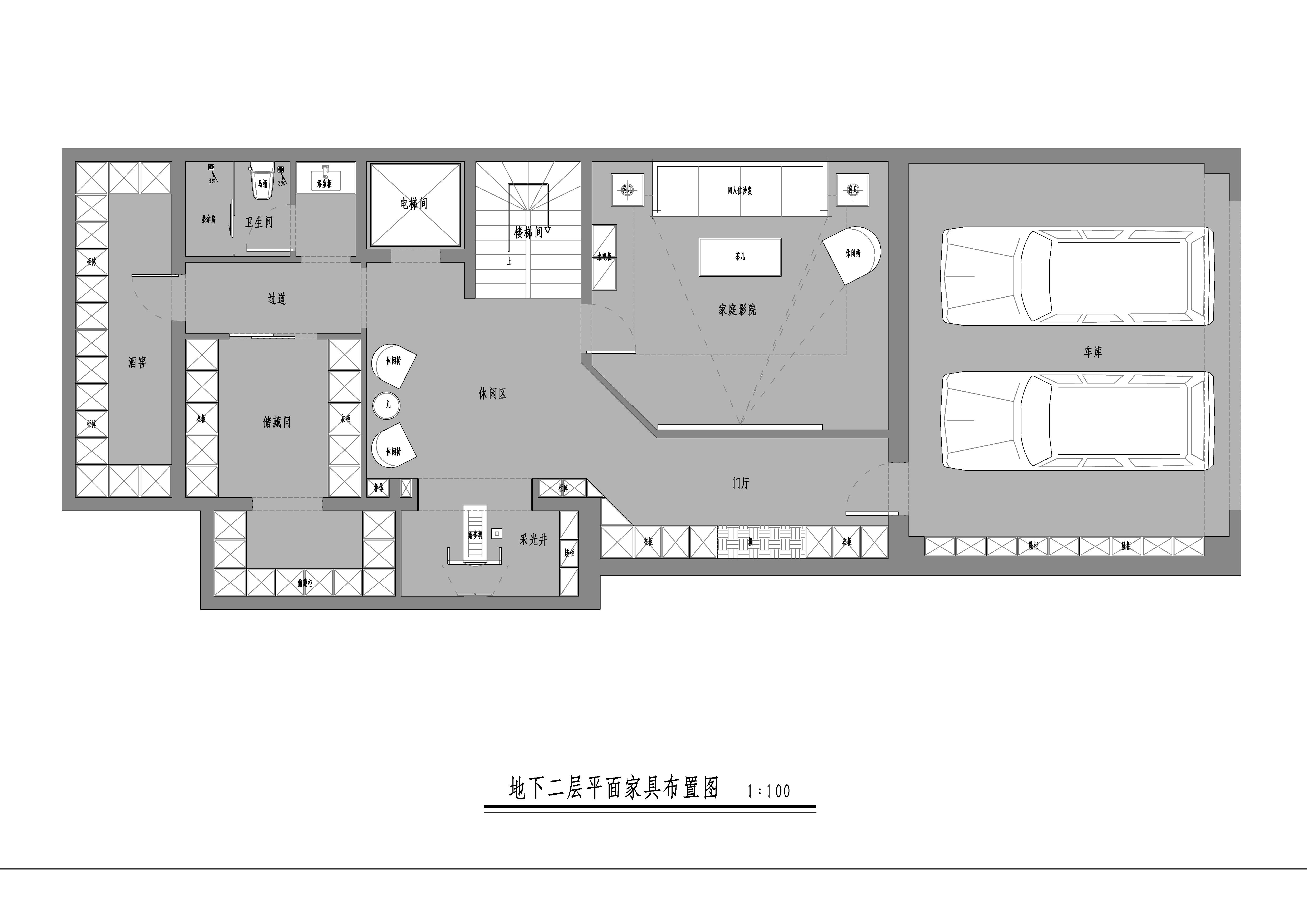 中海墅-435平米-现代中式-装修效果图装修设计理念