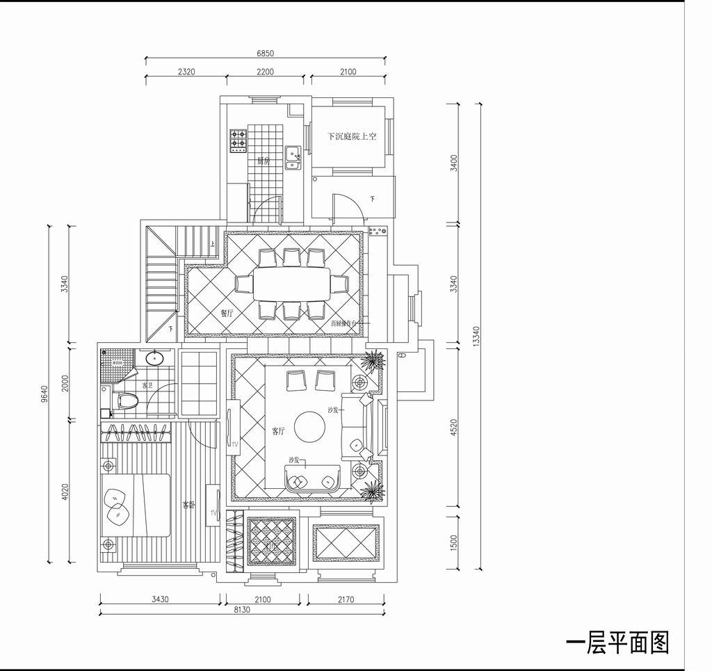 红杉溪谷-托斯卡纳-220平米装修设计理念