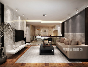 西安知名楼盘三居室装修效果图真实案例解析