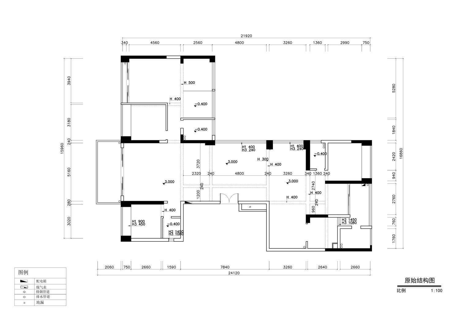 澳城1618-古典欧式风格案例-240平米装修效果图装修设计理念