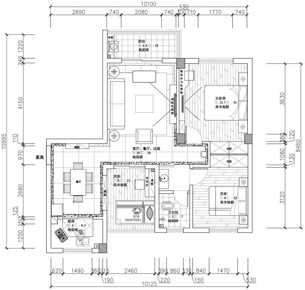 畔山御景欧式新古典装修效果图装修设计理念