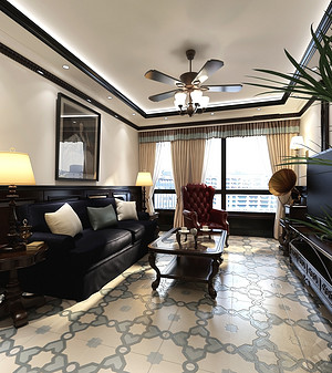 90平简美风格二居室装修,现代实用、温暖舒适的空间