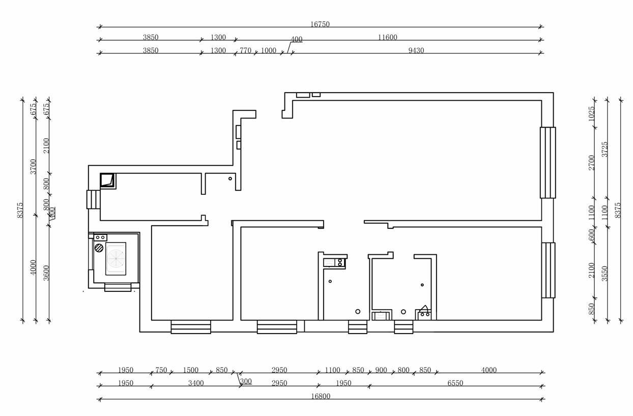 华润悦府地中海风格167平米装修效果图装修设计理念