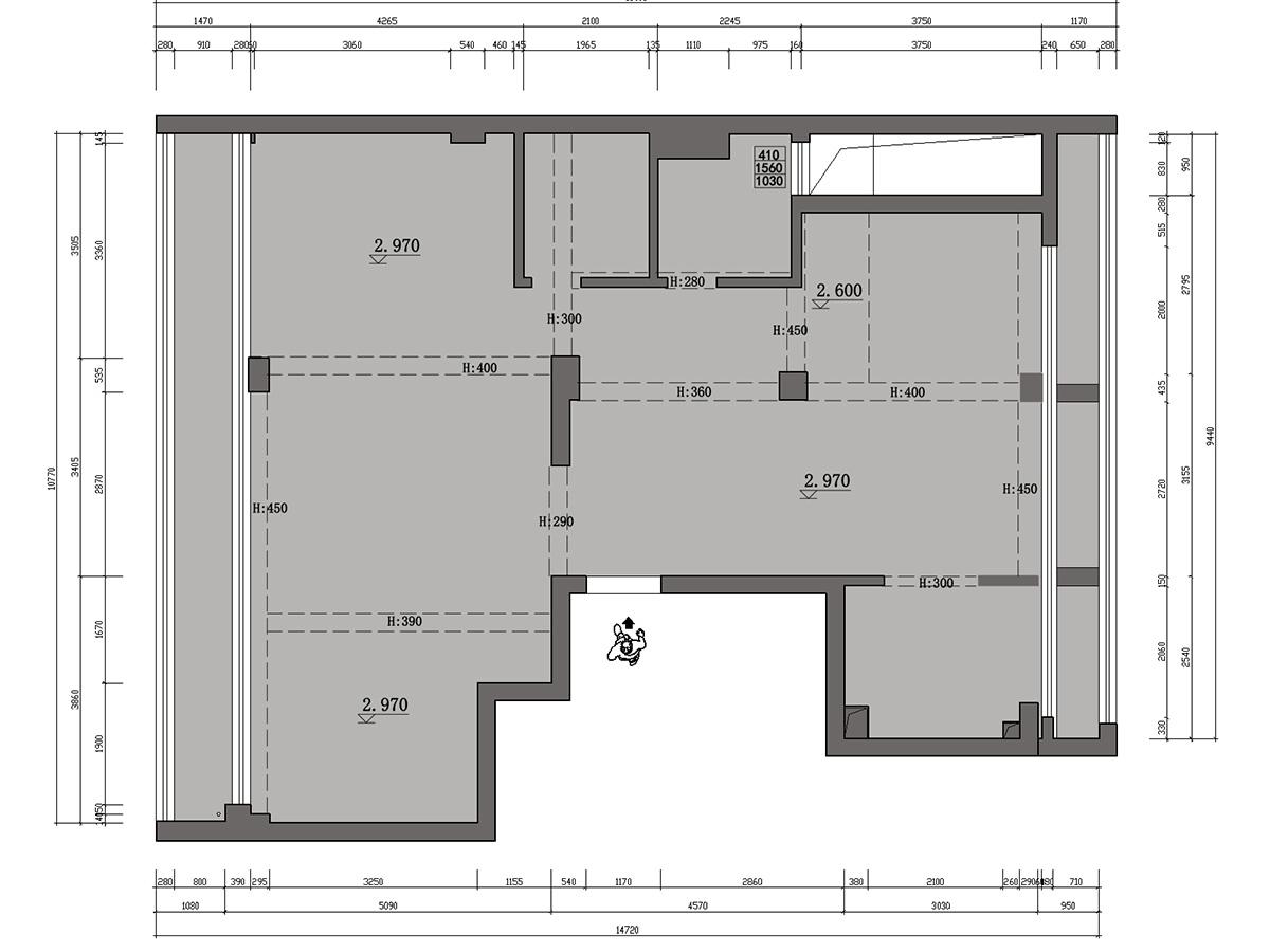 绿城明园现代简约143平米装修设计理念