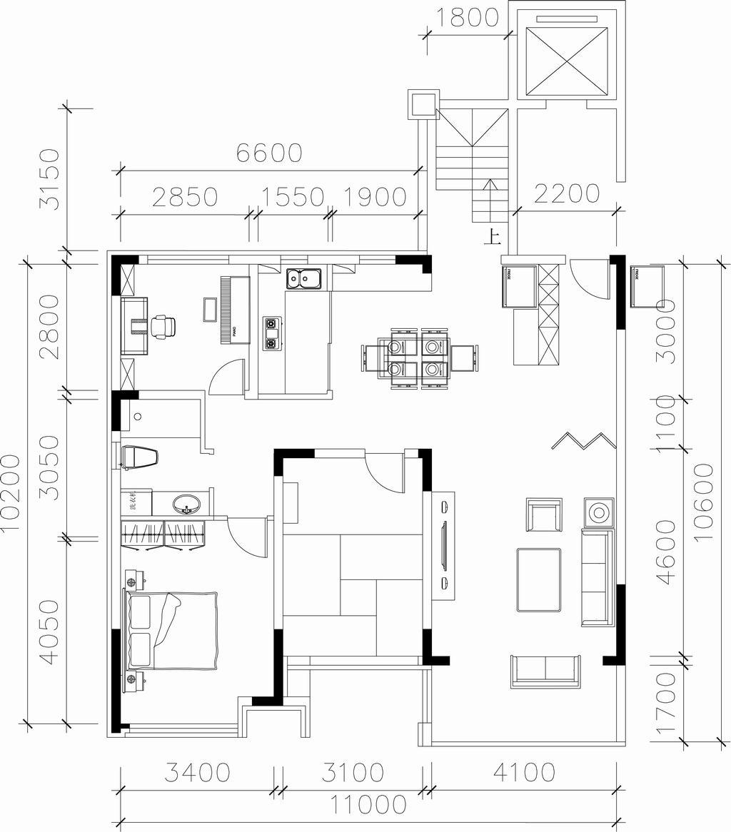 美的城-新中式-265平米装修设计理念