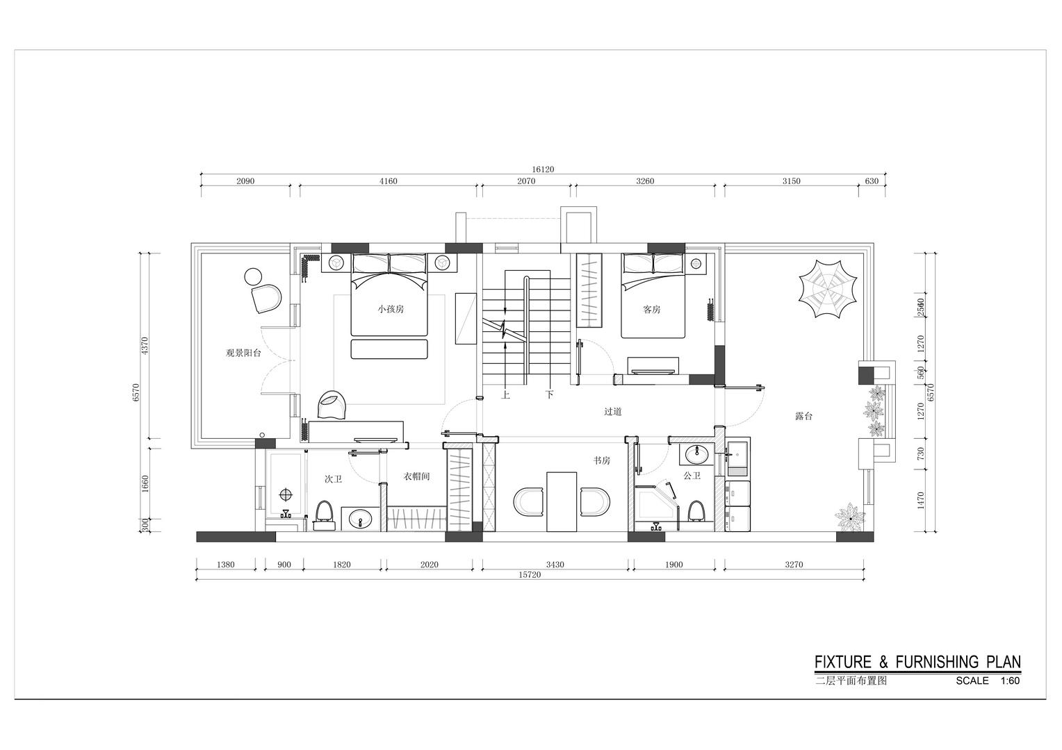 保利林语花园-欧式田园风格案例-360平米别墅装修效果图装修设计理念