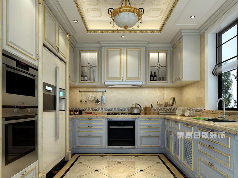 西式厨房装修效果图适合大部分户型和风格