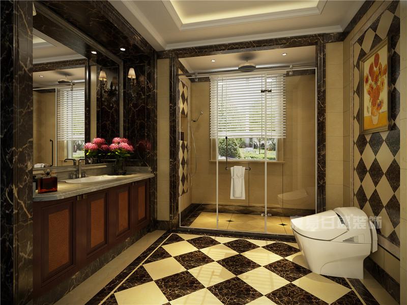 丰华悦园-380㎡-欧式古典风格-别墅-卫浴(图13)