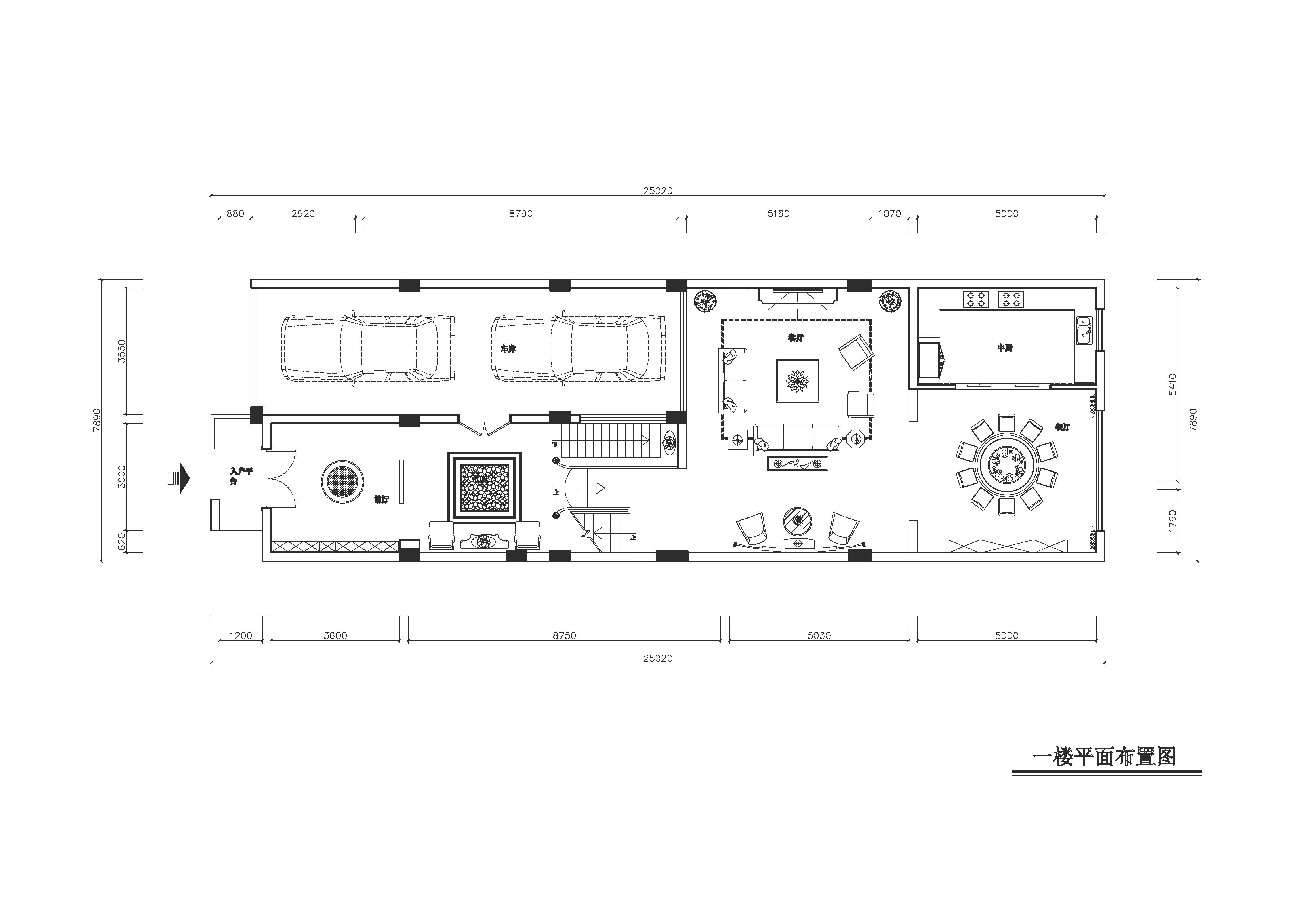 保利400㎡新中式别墅装修效果图装修设计理念