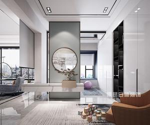 120㎡佛山装饰设计,轻奢与素雅结合,打造浪漫品质之家!