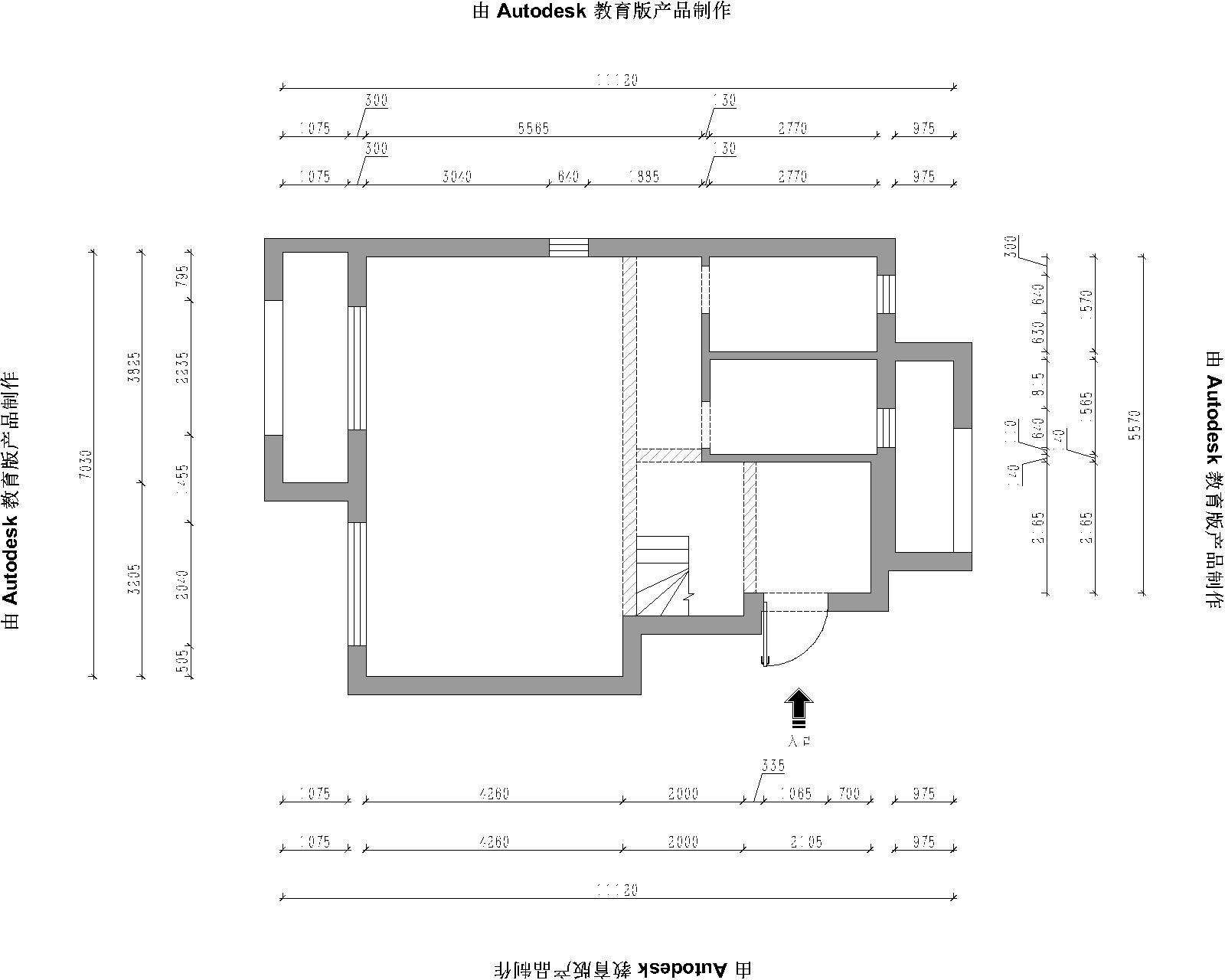 红星海美式装潢成果图-150平装潢策划愿景