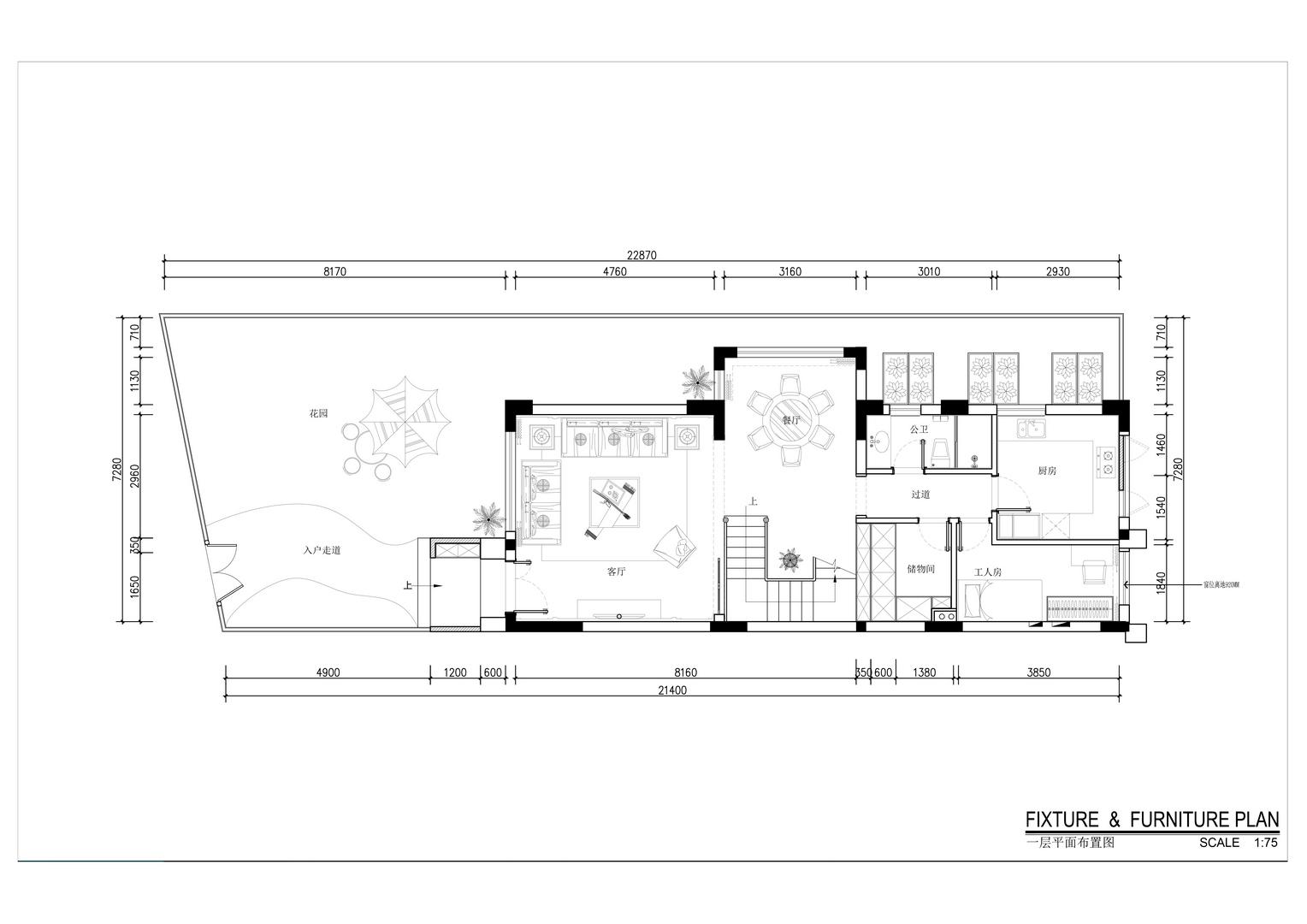 大运城邦-新中式风格案例-300平米别墅装修效果图装修设计理念