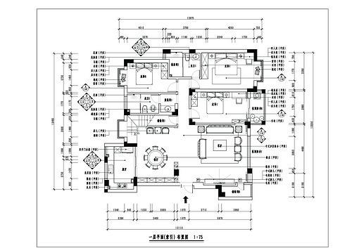 凯悦国际300㎡新中式装修设计理念