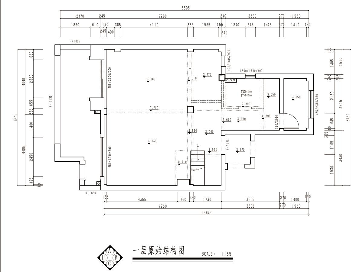 星光御墅欧式风格叠层200平装修设计理念