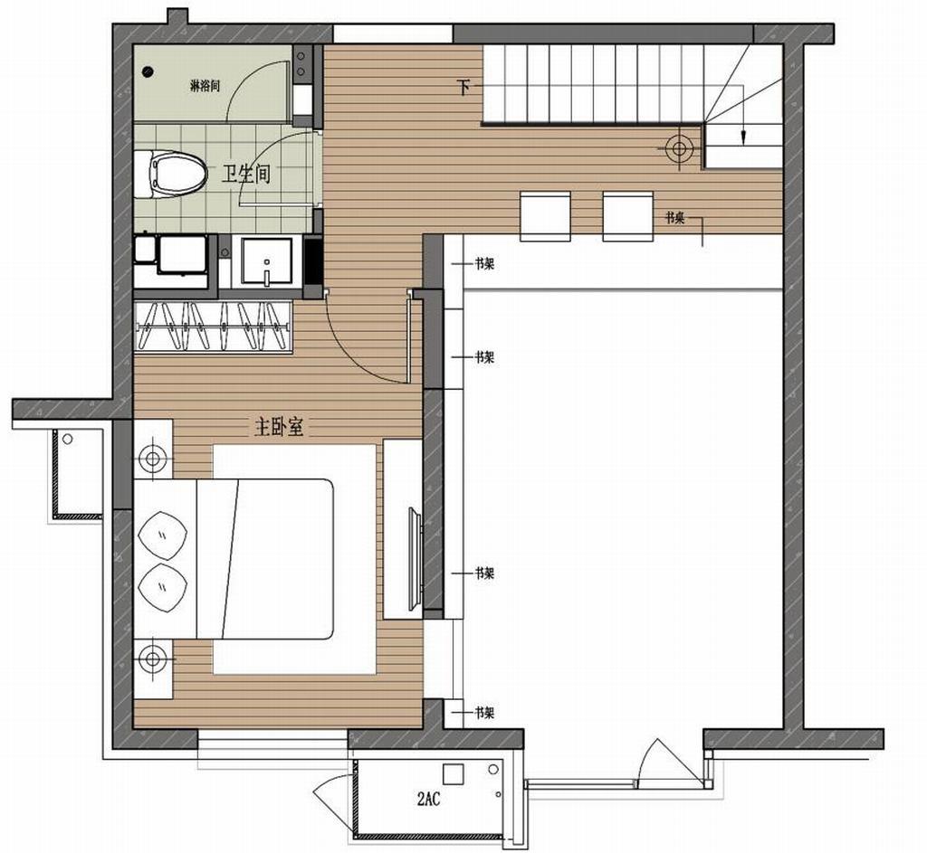90墅-托斯卡纳-90平米装修设计理念