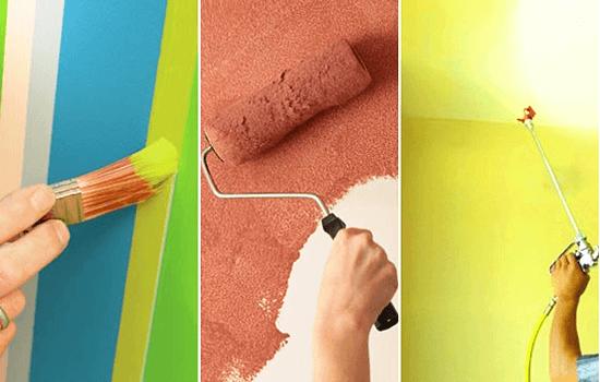成都室内装修时如何选购乳胶漆 教你辨别真假乳胶漆(图一)