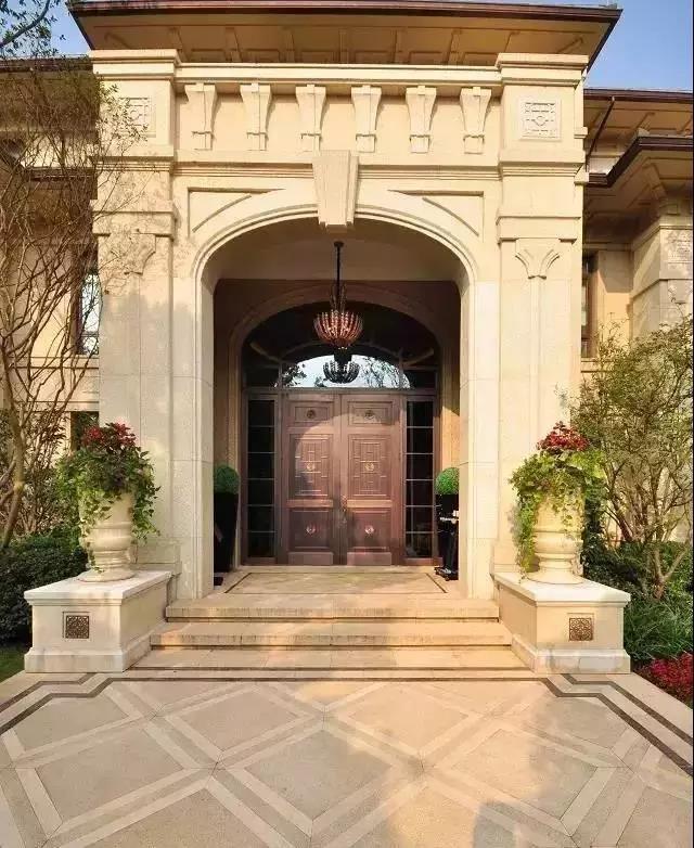 別墅入口設計,哪款是你最想pick的?-瀘州東易日盛裝飾