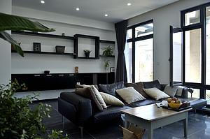 大连客厅装修沙发摆放风水