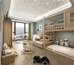 深圳东易日盛儿童房设计,创造一个属于孩子们的天地