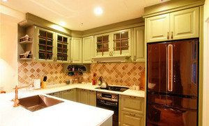 整体橱柜尺寸介绍 标准厨房橱柜尺寸详解