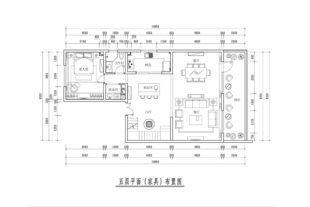 昆仑域-新中式风格-239m²装修设计理念