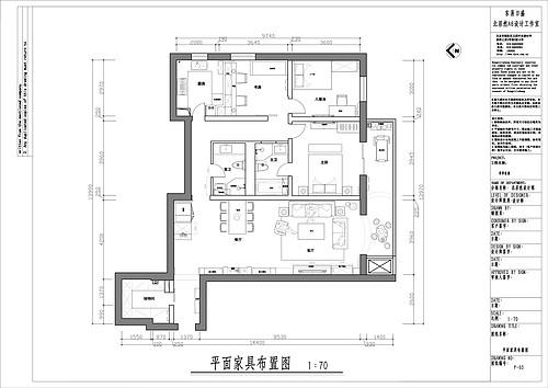 华亭家园-美式-120平米装修设计理念