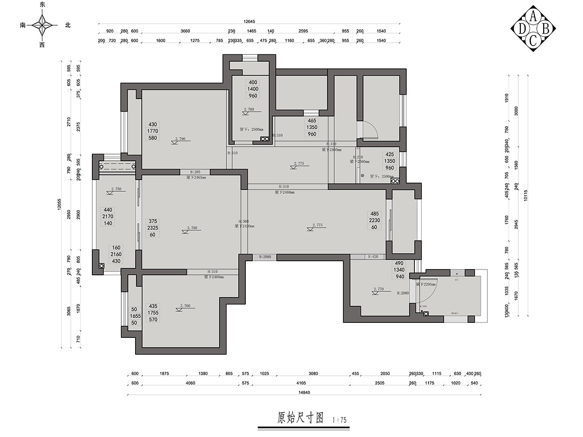 星光御墅法式简约142平米装修设计理念