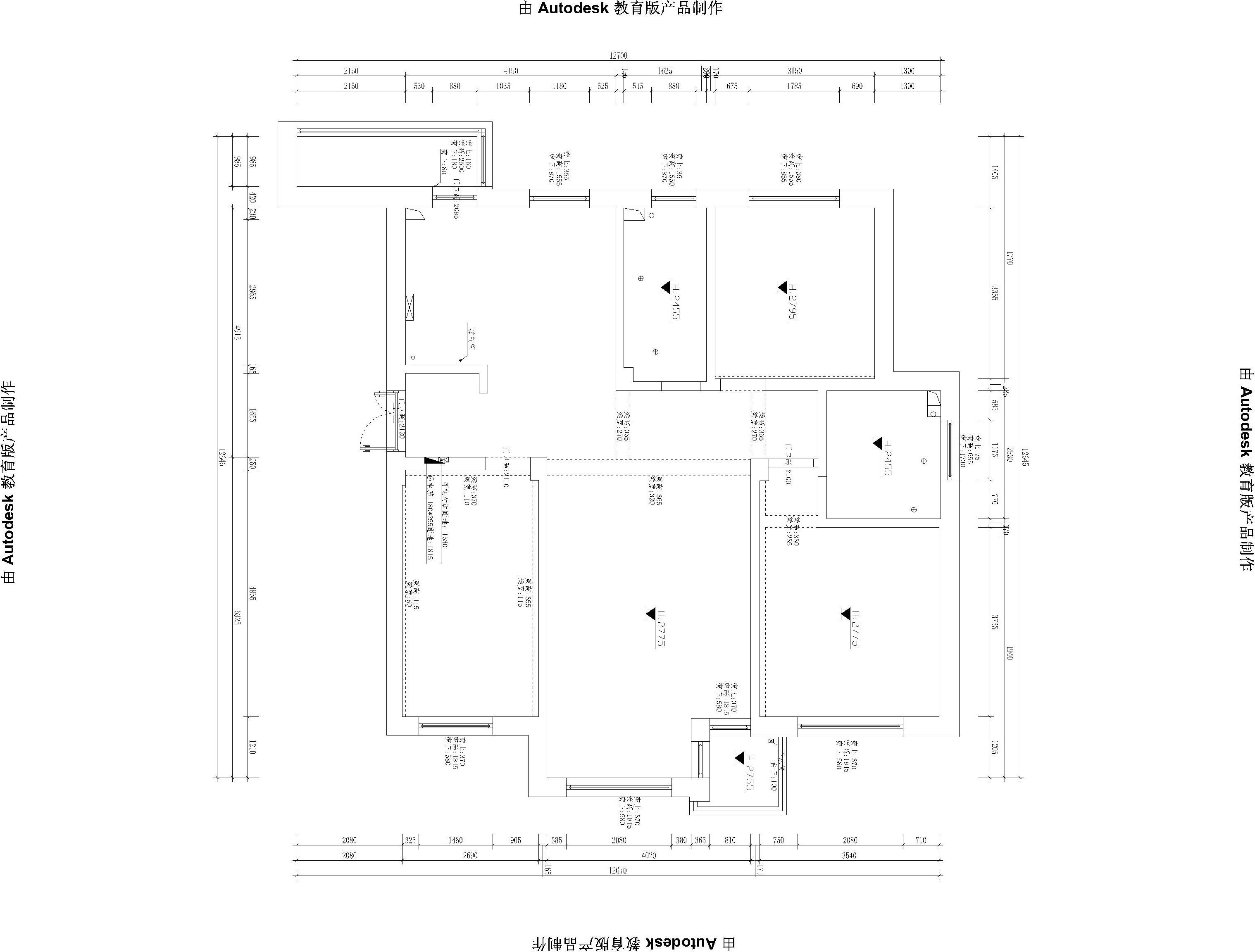 悦泰德里-欧式古典-180平装修设计理念
