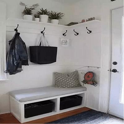 成都室内装修家里墙角这样设计 空间瞬间变大