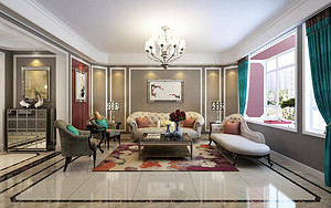最美的客厅来自最美的搭配
