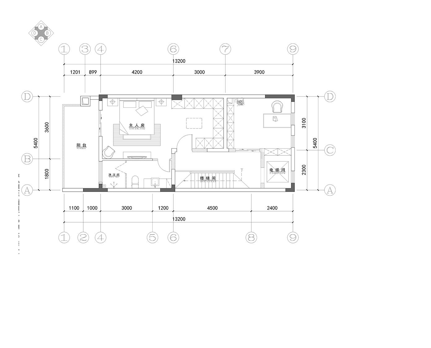 东原·嘉阅湾-374.3㎡-简欧风格装修设计理念