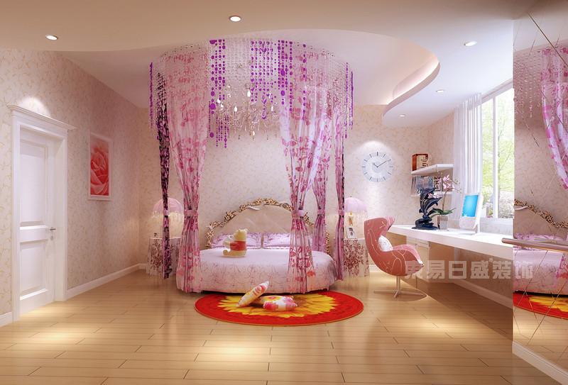 儿童房装修粉红.jpg
