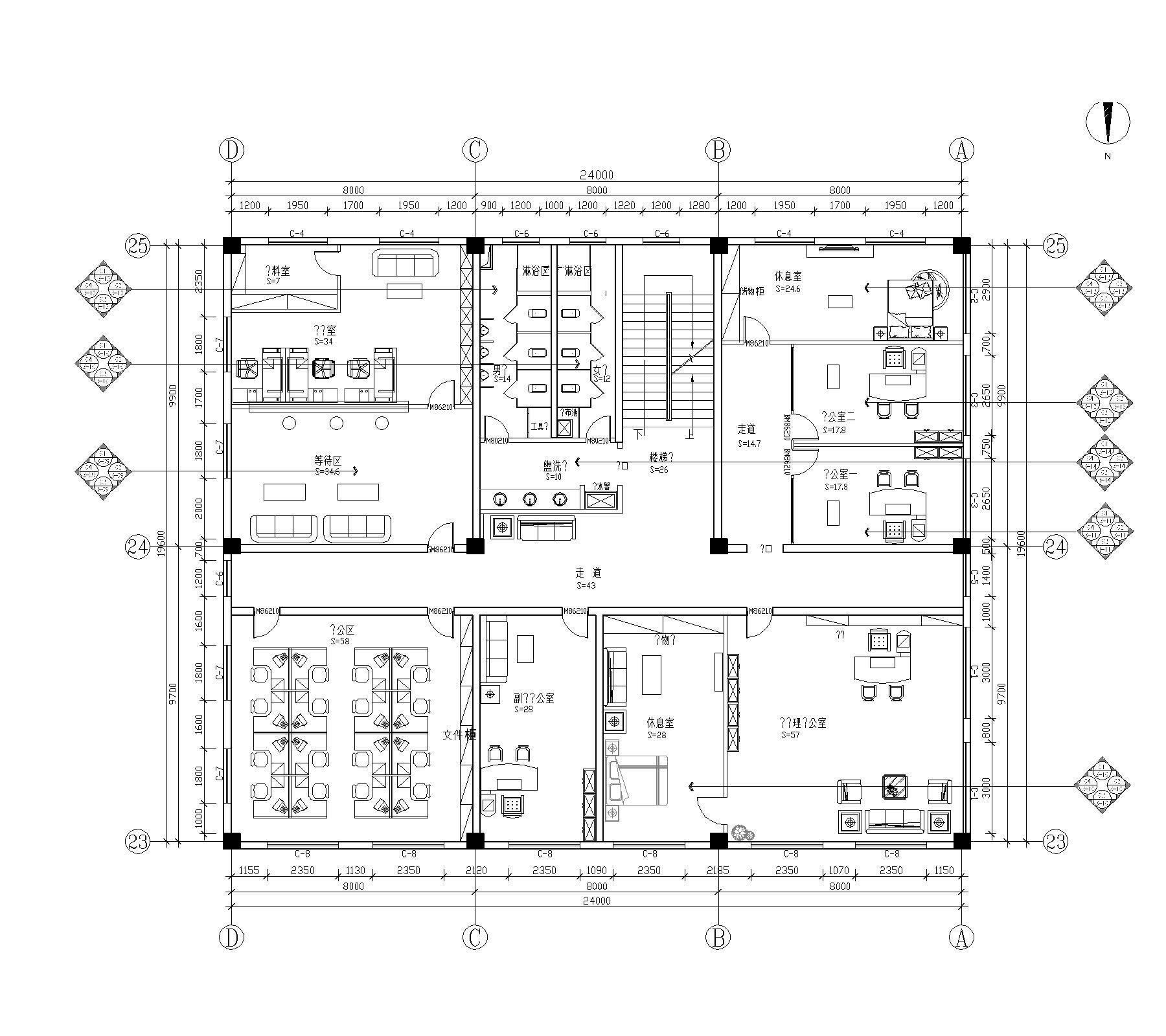 小汤山自建别墅-新中式-400平米装修设计理念