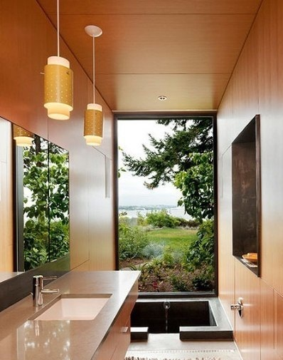 狭长型卫生间怎样设计比较好,赶紧来看看吧