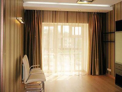 现代简约风格窗帘如何搭配