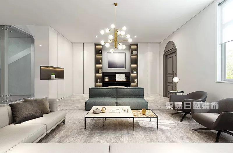 佛山现代简约客厅装修设计