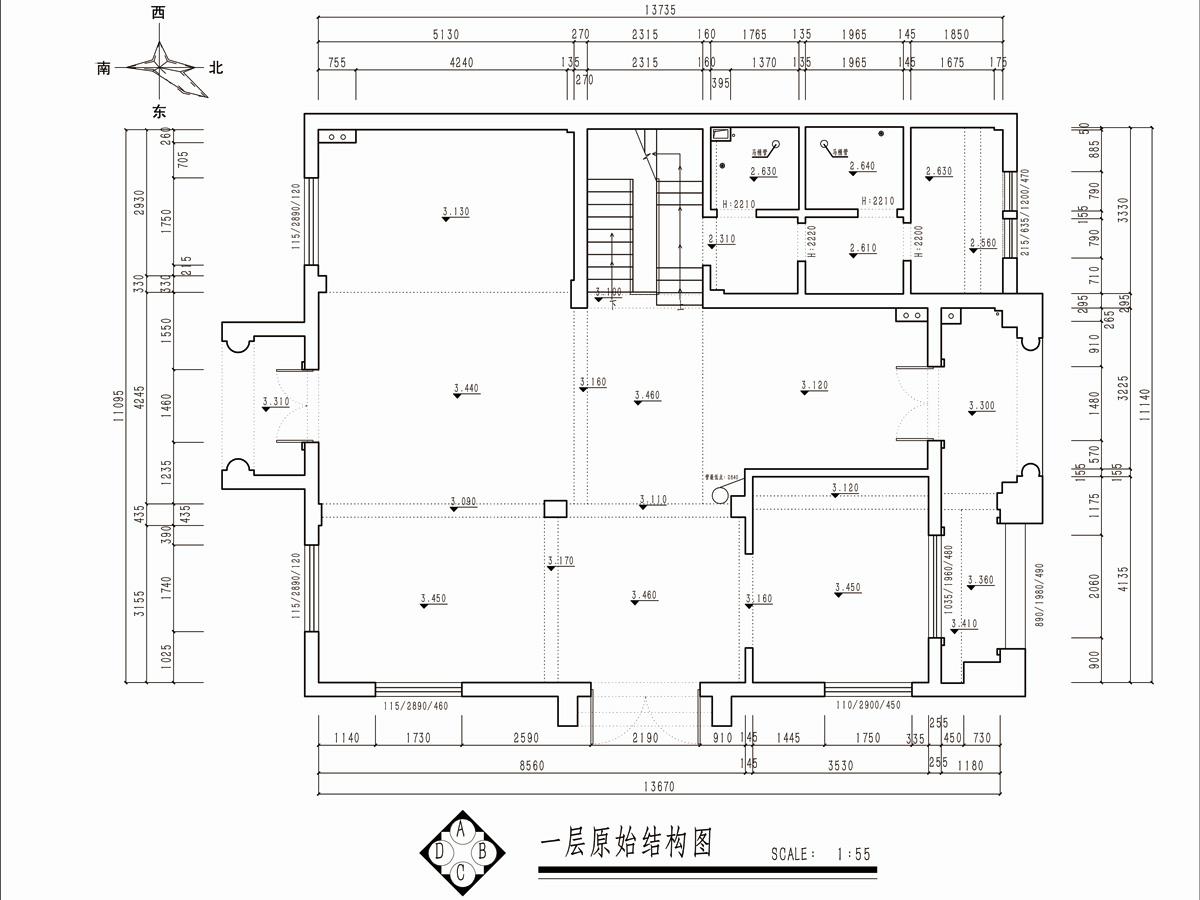 绿城惠园350平欧式风格别墅装修设计理念