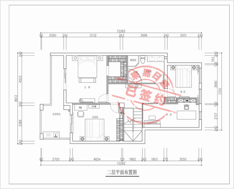 新中式别墅实景图