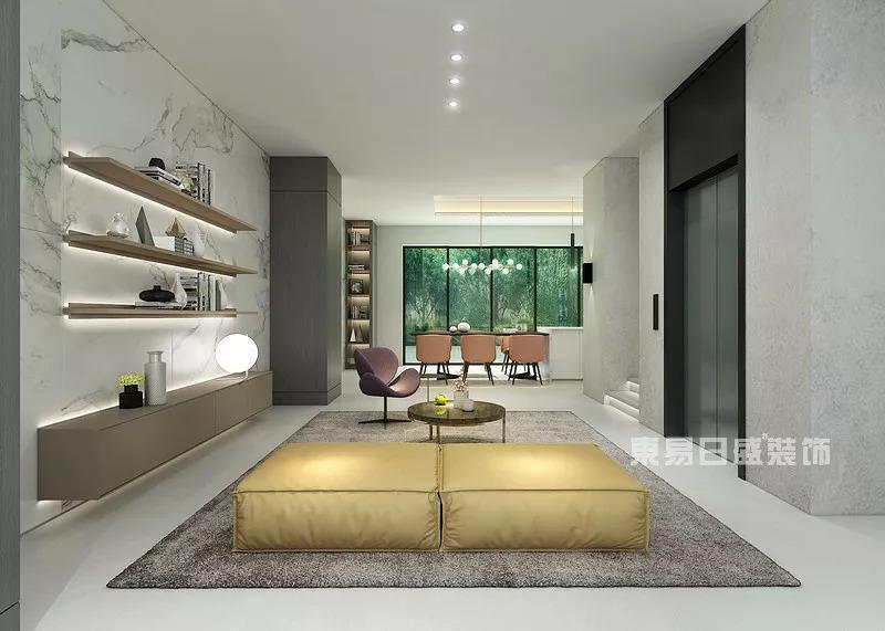 佛山现代简约活动室装修设计