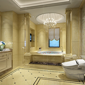 卫浴装修设计时要注意什么问题?卫生间装修效果图