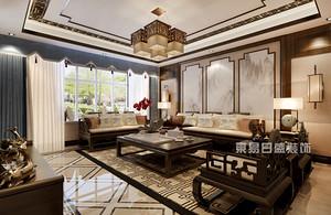 165平米新中式装修效果图片,带你体验什么叫豪宅设计!