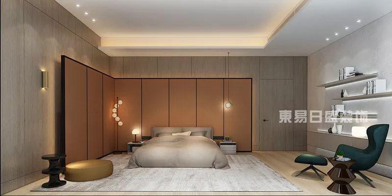 佛山现代简约卧室装修设计